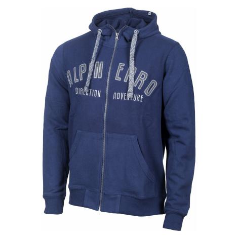 Pánská mikina Alpine Pro HOROS - tmavě modrá
