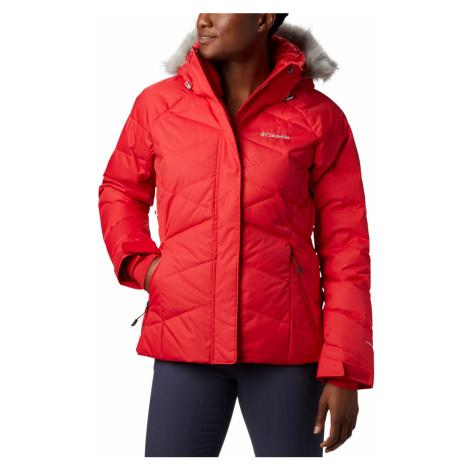 Bunda Columbia Lay D Down™ II Jacket - červená