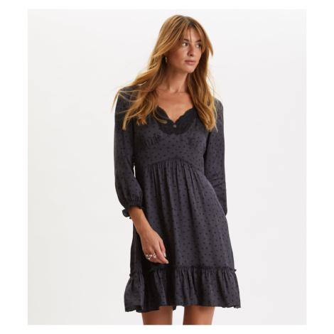 Šaty Odd Molly Hello New Love Dress - Černá