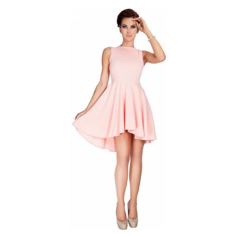 Dámské šaty Numoco 33-1 | broskvová