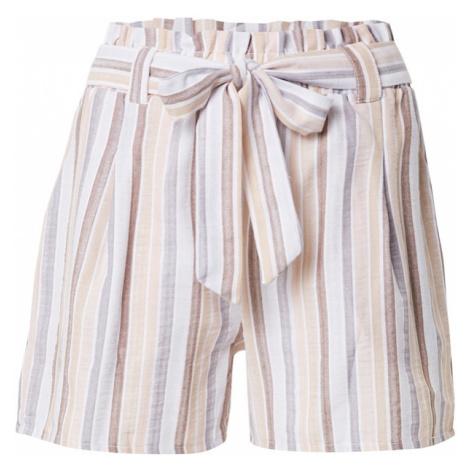 Trendyol Kalhoty béžová / světlemodrá / světle hnědá / bílá