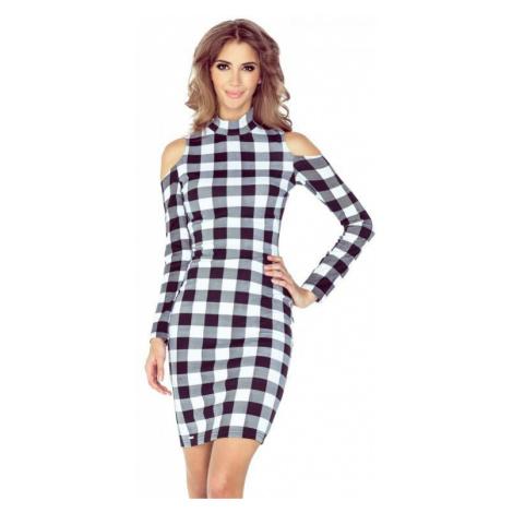 Dámské šaty Morimia 008-2 | černo-bílá