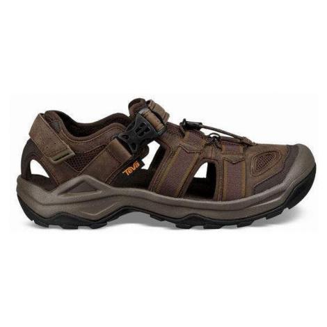 Teva Omnium 2 Leather M, hnědá Pánské sandále