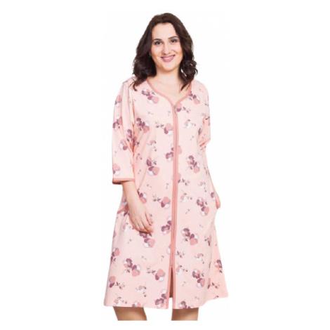 Dámské domácí šaty Vienetta Secret Barbara | meruňková