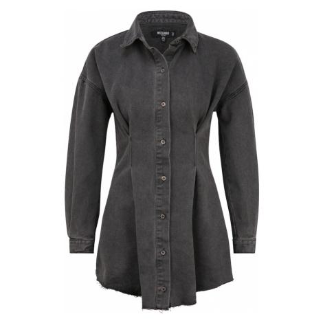 Missguided (Petite) Košilové šaty černá