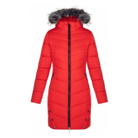 Loap TALKA červená - Dámský zimní kabát