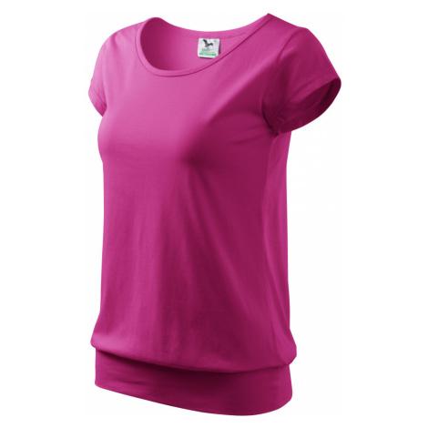 Malfini City Dámské triko 12040 purpurová