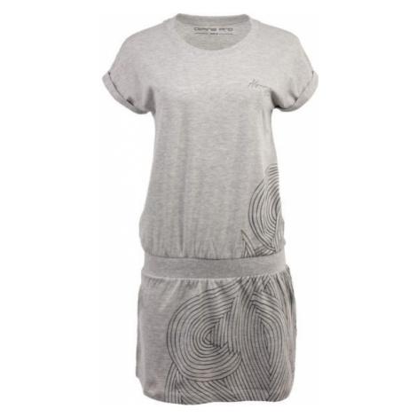 ALPINE PRO ARTURA 2 šedá - Dámské šaty