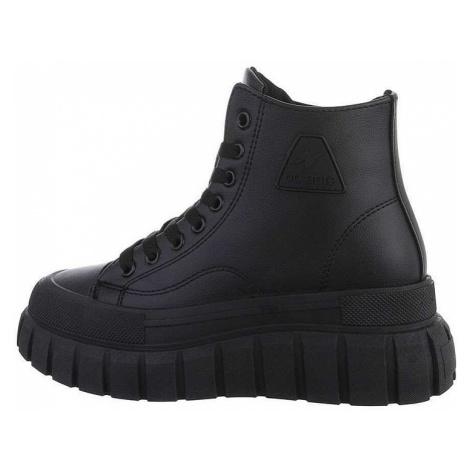 Dámské šněrovací kotníkové boty