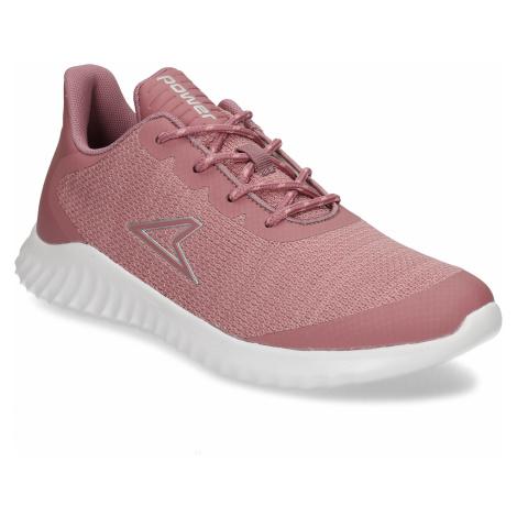 Růžové dámské sportovní tenisky Power