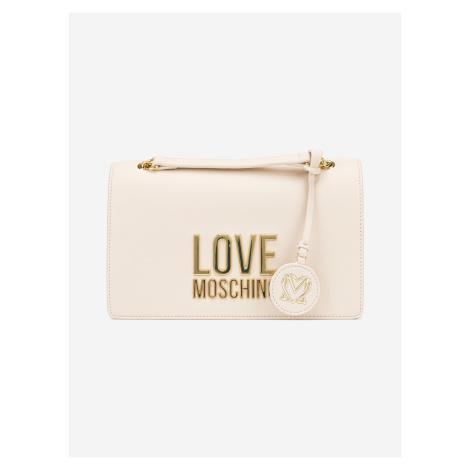 Cross body bag Love Moschino Béžová