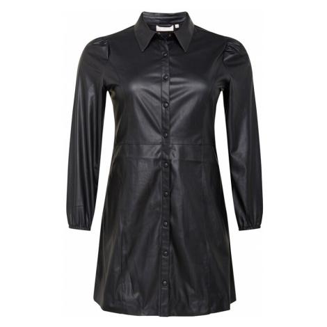 ONLY Carmakoma Košilové šaty černá