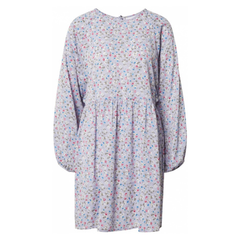 Daisy Street Šaty 'ALEXIS' šeříková / bílá / královská modrá / malinová / olivová