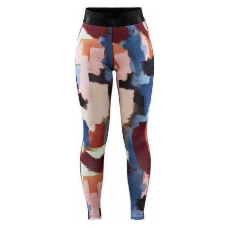 Dámské kalhoty CRAFT ADV Core Essence modrá/oranžová