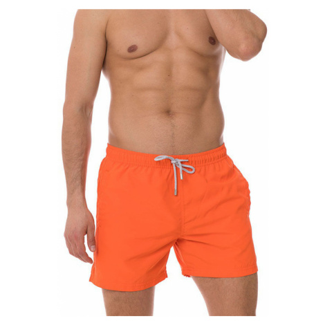 Pánské plavky John Frank JFSS19SW01 Oranžová