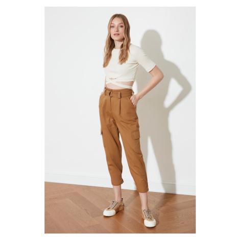 Trendyol Camel Leg Detail Pants