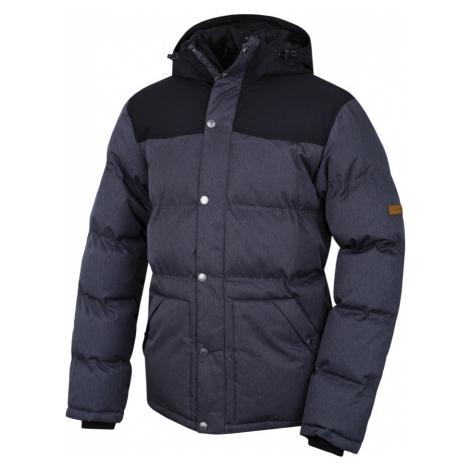 HANNAH Slasher II Pánská zimní bunda 217HH0031HJ01 Magnet mel/anthracite