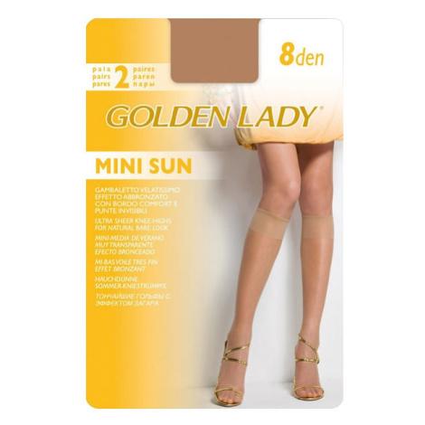 Dámské podkolenky Golden Lady Mini Sun 8 den A'2 the/odstín béžové univerzální