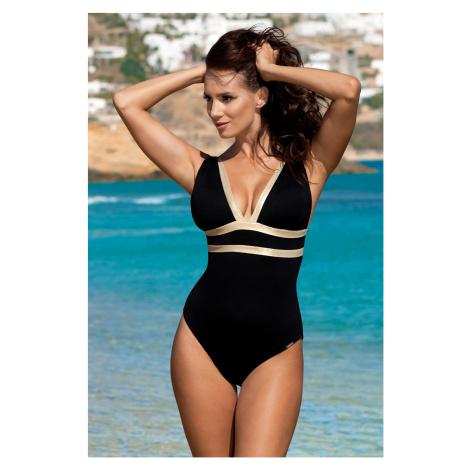Dámské jednodílné plavky Beryl Black Gold Madora