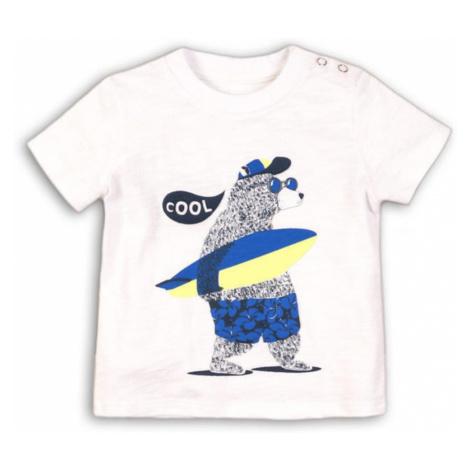 Tričko chlapecké s krátkým rukávem, Minoti, HOLIDAY 4, bílá
