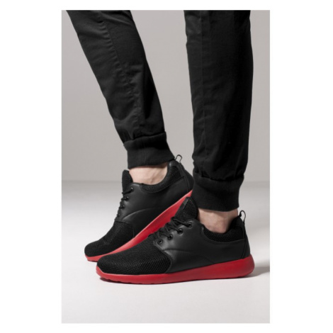 Urban Classics Light Runner Shoe blk/firered