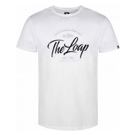 Loap ANAKO bílá - Pánské triko