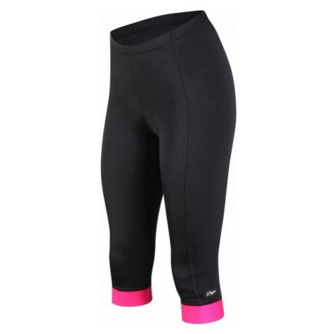 Etape SARA 3/4 KALHOTY W černá - Dámské cyklistické kalhoty