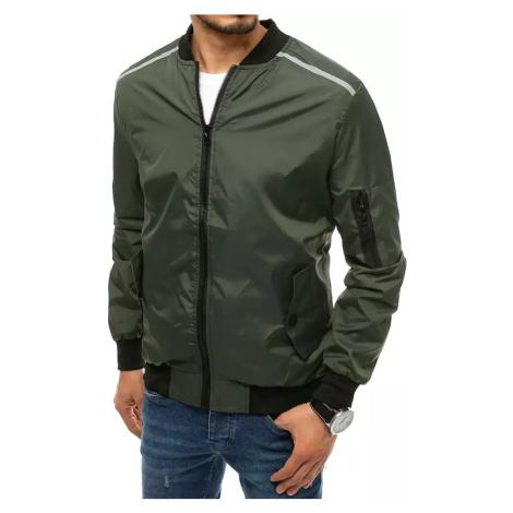 Men's green transitional jacket Dstreet TX3684