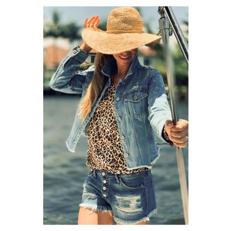 KanCan USA KanCan dámská džínová bunda