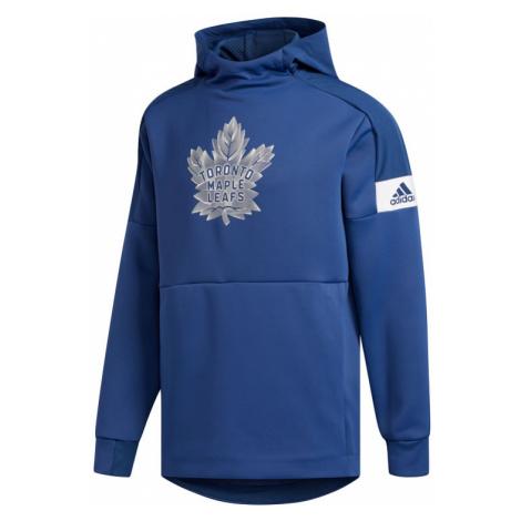 Pánská mikina s kapucí adidas Player Pullover Hood NHL Toronto Maple Leafs,
