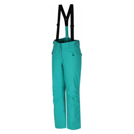 HANNAH AWAKE Dámské lyžařské kalhoty 10007211HHX01 pool green