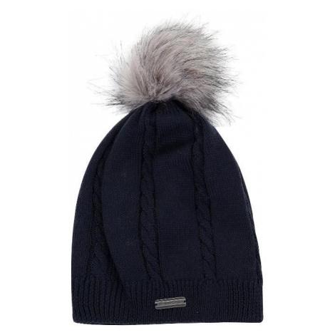 Dámská zimní čepice Alpine Pro KATHELYN - tmavě modrá
