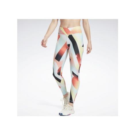 Reebok Sport Lux Bold Leggings Oranžová