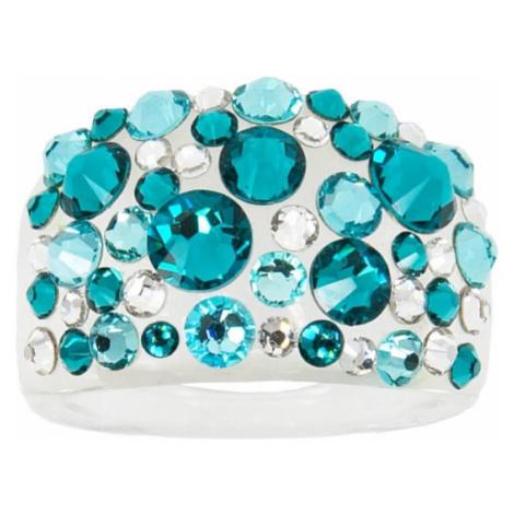 Troli Prsten Bubble Blue Zircon