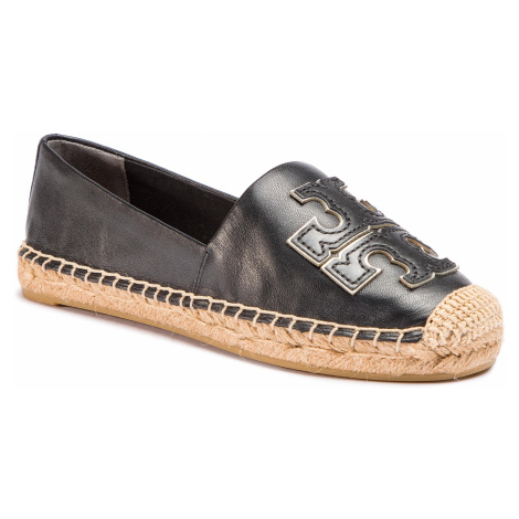 Espadrilky TORY BURCH - Ines Espadrille 52035 Perfect Black/Perfect Black/Silver 013 1