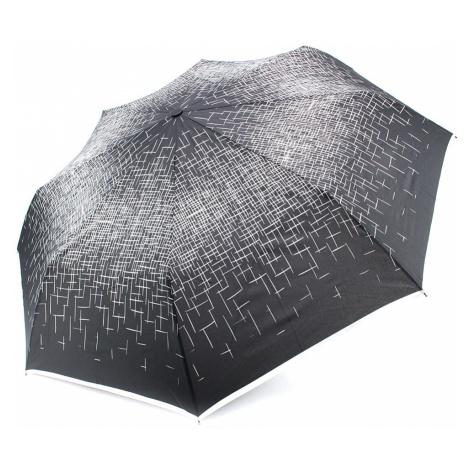 Černobílý skládací plně automatický dámský deštník Kynlee Doppler