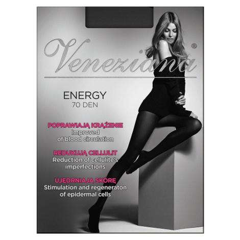 Punčocháče Veneziana Energy 70 den černá