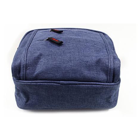 Modrá pánská praktická crossbody taška Abdon Tapple