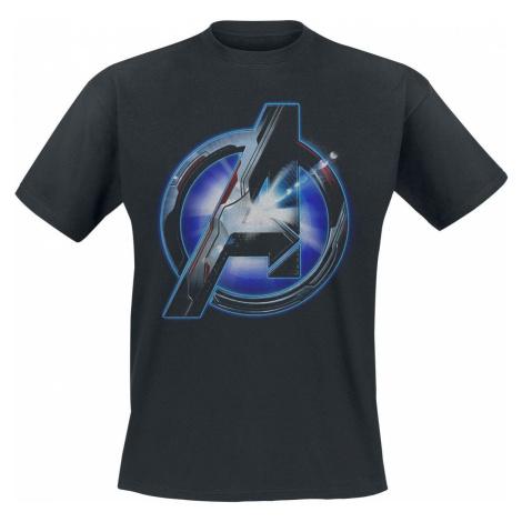 Avengers Tech Logo Tričko černá