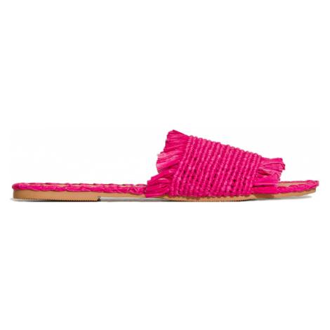 Pantofle Manebi YUCATAN růžová