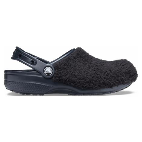 Crocs Classic Fuzz Mania Clog Black
