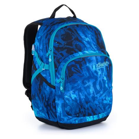 Modrý studentský batoh Topgal YOKO 21035 B