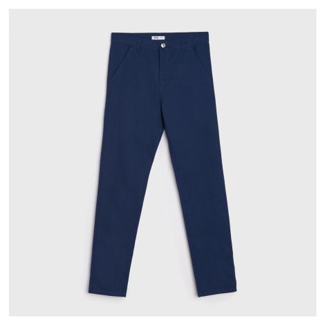 Sinsay - Kalhoty chino - Tmavomodrá