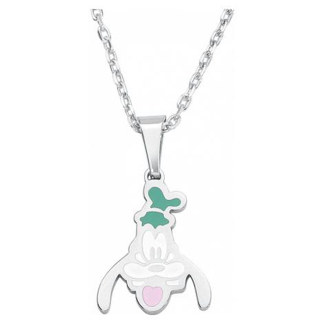 Mickey & Minnie Mouse Disney by Couture Kingdom - Goofy Náhrdelník - řetízek stríbrná