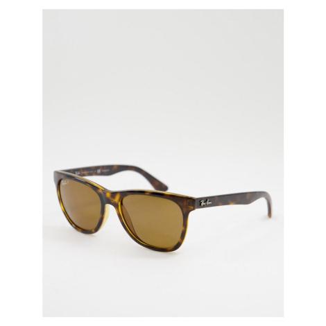 Rayban 0RB4184 wayfarer sunglasses-Brown Ray-Ban