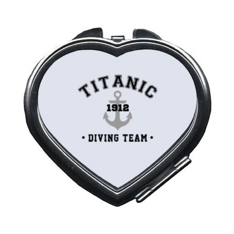 Zrcátko srdce TITANIC DIVING TEAM