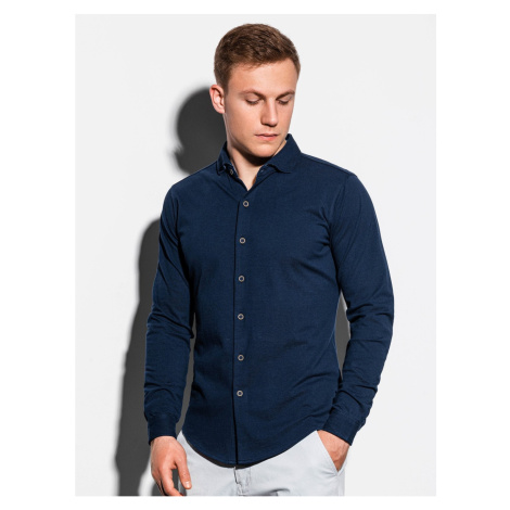 Ombre Clothing Men's shirt with long sleeves K540