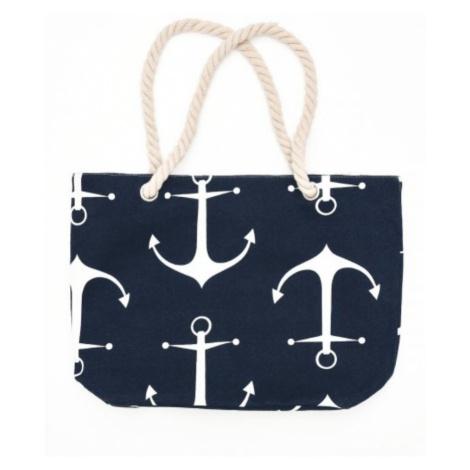 Plážová taška Esotiq 38132 Tm. modrá Esotiq & Henderson