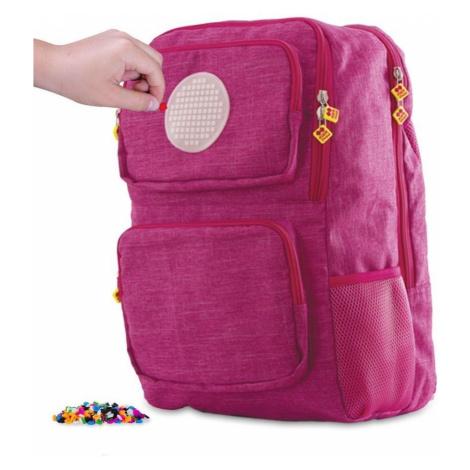 Školní kreativní pixelový batoh fuchsiový PXB-26-86 PIXIE CREW