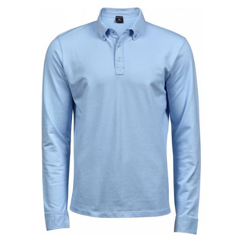Pánské polo tričko Luxury Stretch s dlouhým rukávem Tee Jays